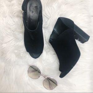 ❤️ 3 items for $20❤️ Indigo Rd Black Suede Heels